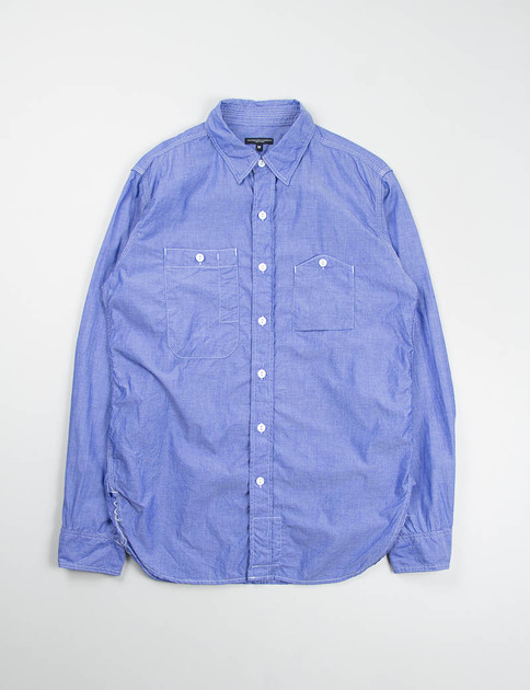 Blue Dress Chambray Work Shirt SPECIAL