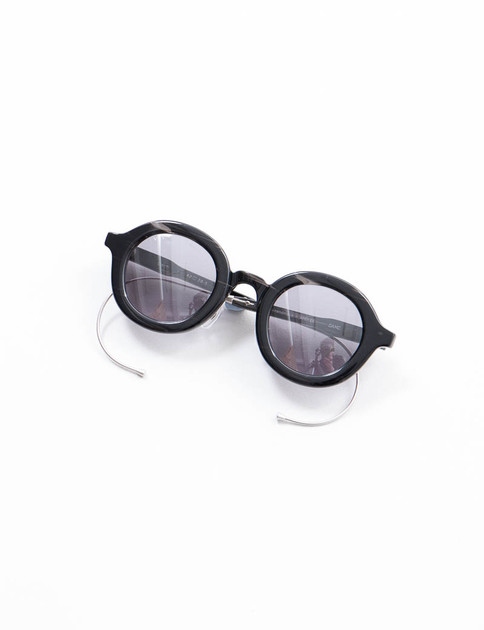 Black/Grey Solid CWM Cable Sunglasses
