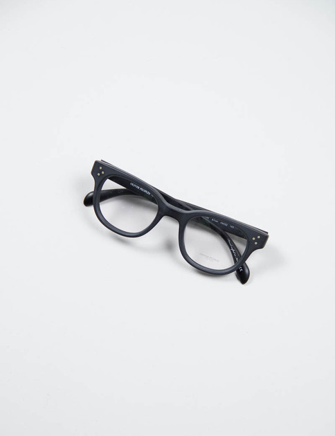 Matte Black Afton Optical Frame