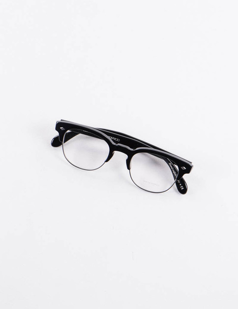 Black/Antique Pewter Hendon LA Optical Frame