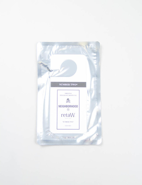 retaW Number Two Fragrance Room Tag