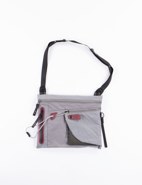 Grey Game Shoulder Bag
