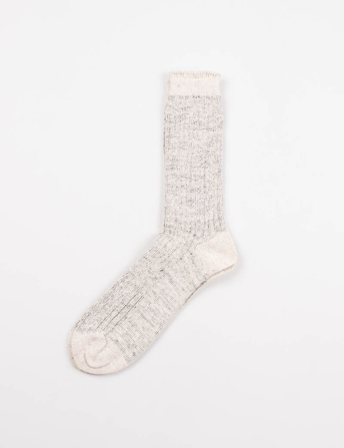 Grey/Natural Work Socks