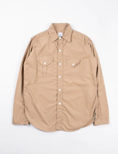 Khaki End On End Cruzer 2 Shirt