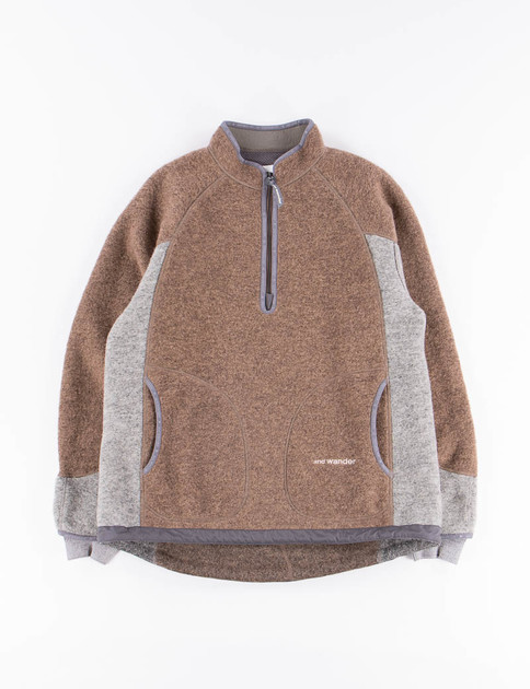 Brown Air Wool Pullover
