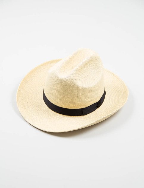 Natural Stetson Panama Hat