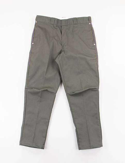 Olive Rebuild Dickies 874 Dimension Slim Pant