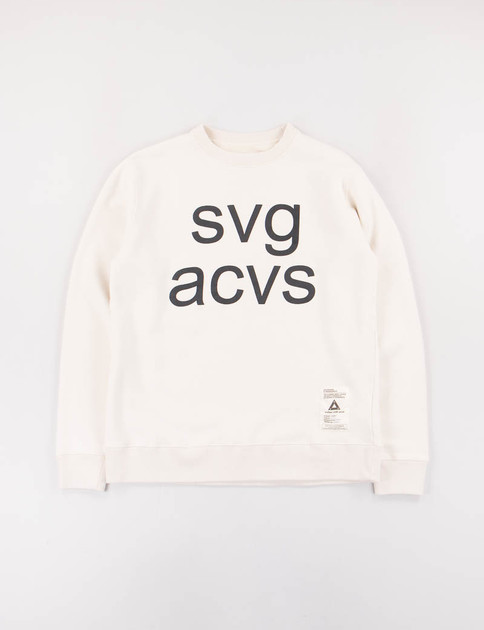 White SVG C–Crew Sweatshirt