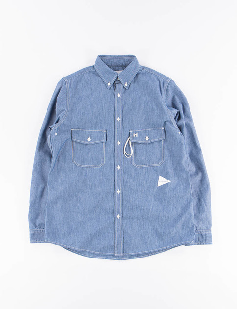 Blue PL Dungaree Shirt