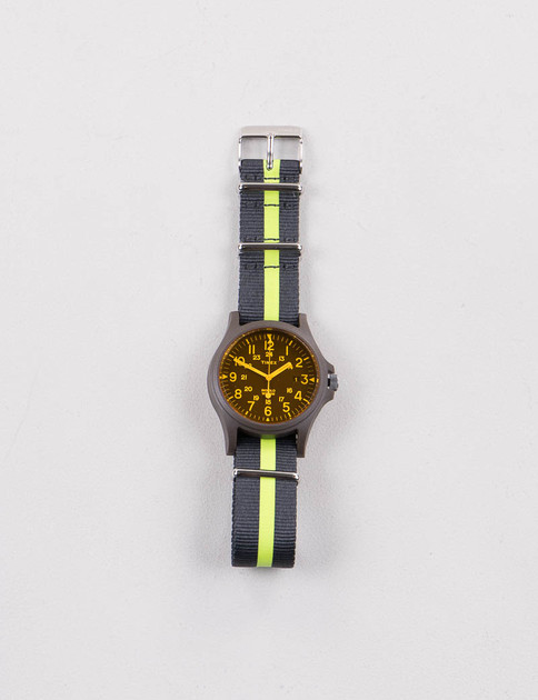 Green/Black w/ Charcoal/Yellow Strap Acadia Watch