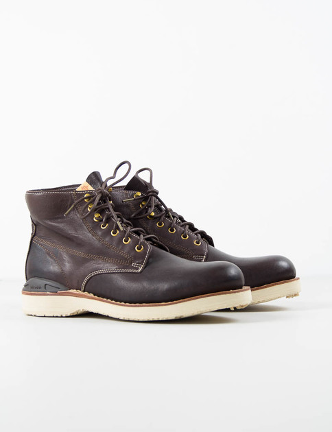 Dark Brown Virgil Boots–Folk
