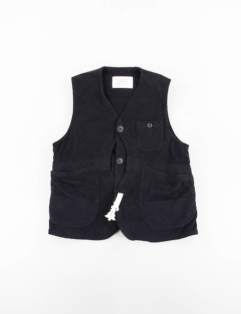 Black Pile Hunter Vest