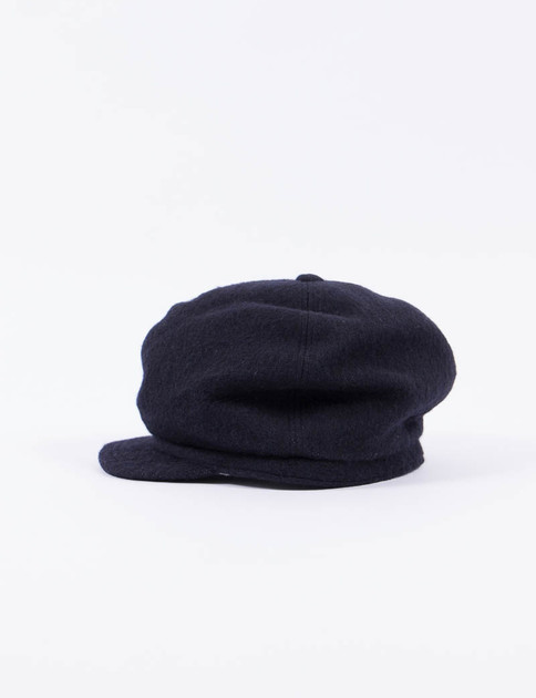 Navy Army Shaggy Cloth Casquette