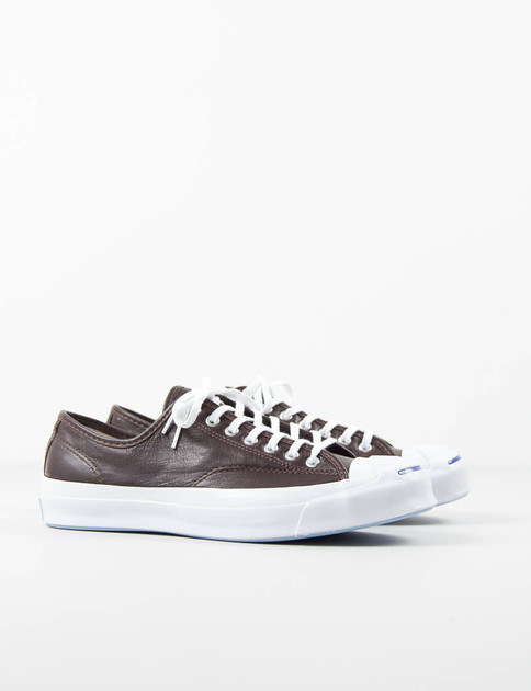 Burnt Umber Jack Purcell Signature Leather