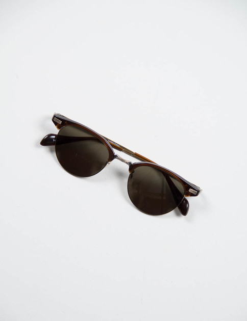 Espresso/Antique Gold Executive II Sunglasses