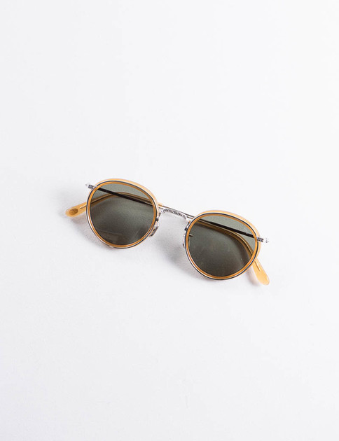 Amber/Silver Model 538 Sunglasses