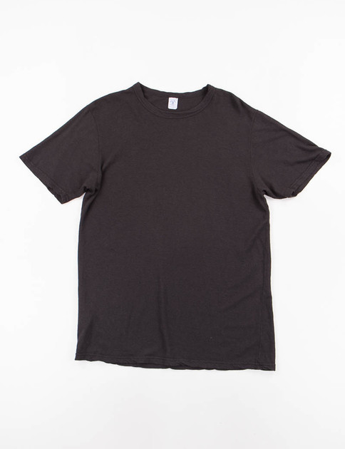 Black Hemp/Cotton Tee