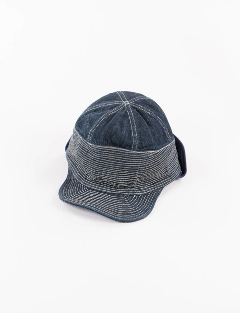 Indigo One Wash SafeTflap The Old Man And The Sea Cap