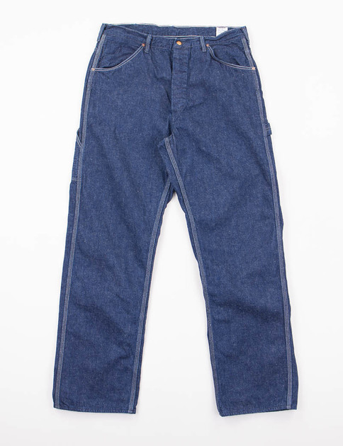 One Wash Denim Painter Pant