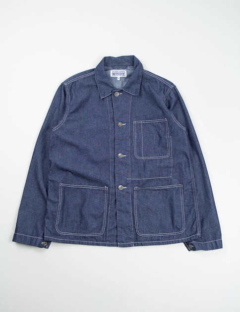 Navy 6oz Denim Utility Jacket