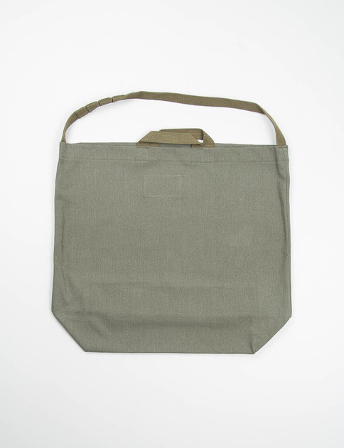 Olive 12oz Bull Denim Carry–All Tote