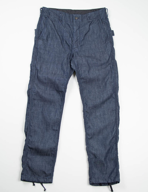 Indigo 11oz Broken Denim Painter Pant
