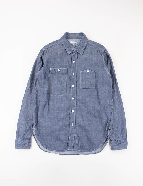 Indigo Light Weight Denim Work Shirt