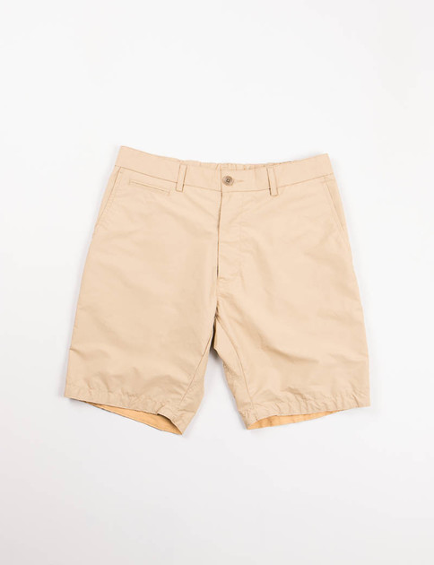 Beige Wind Shorts