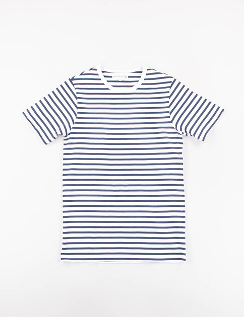 Ink/White Stripe 215 Organic Cotton Army Shirt