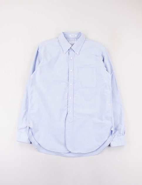 Blue Cotton Oxford 19th Century BD Shirt