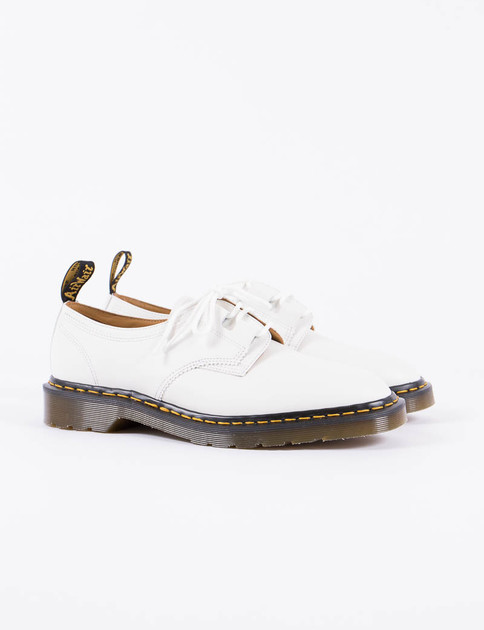 White EG x DM Asymmetric 1461 Shoe