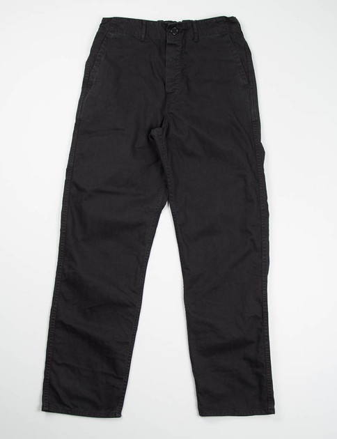 Black French Work Pant