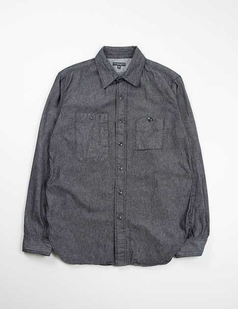 Black 6oz Denim Work Shirt