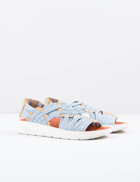 Missoni Light Blue/Yellow Canyon Sandal