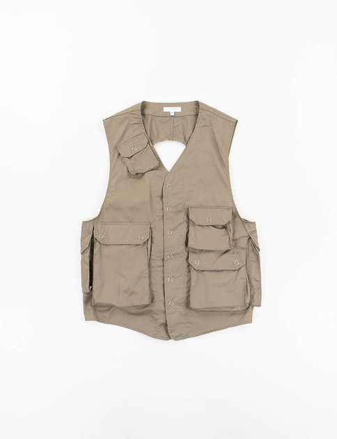 Olive High Count Twill C–1 Vest