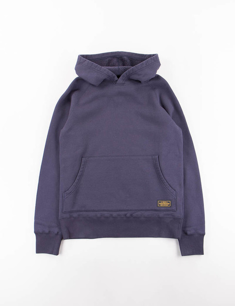 Navy Cam C–Hooded Sweatshirt