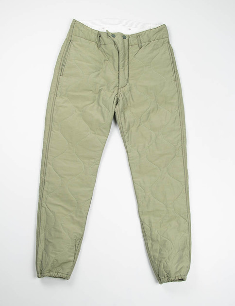 Olive Hourglass Quilted Activecloth E–1 Over Pant