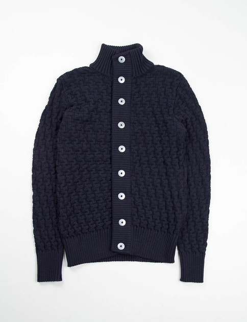 Navy Blue Stark Cardigan