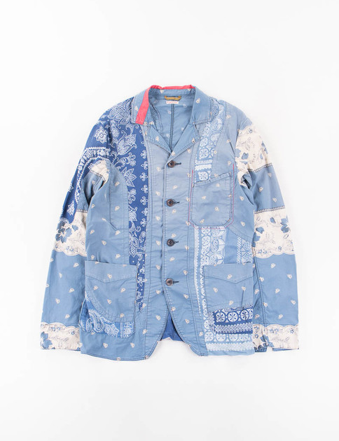 Blue Rockwell Bandana French Saltwork Jacket