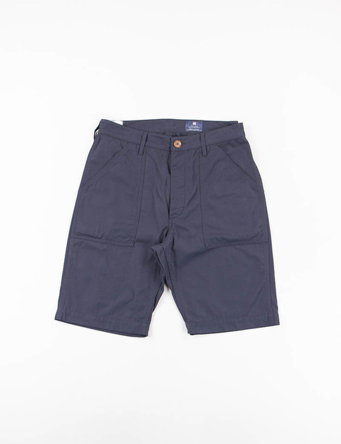 Blue Batavia Nylon Travel Short