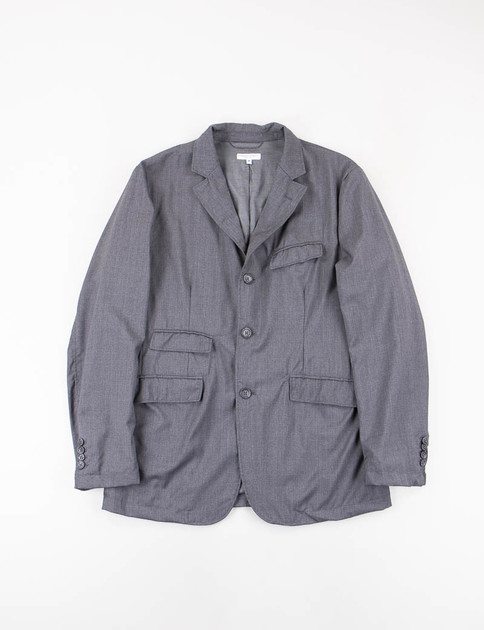 Grey Tropical Wool Andover Jacket