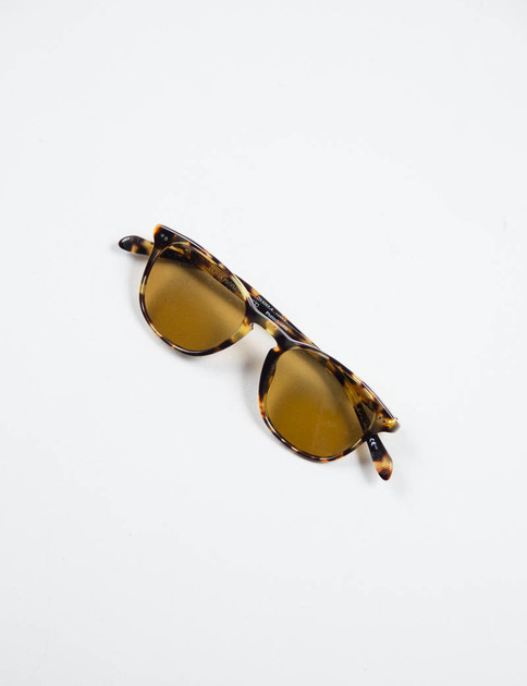 Vintage Dark Brown Tortoise Sir Finley Sunglasses