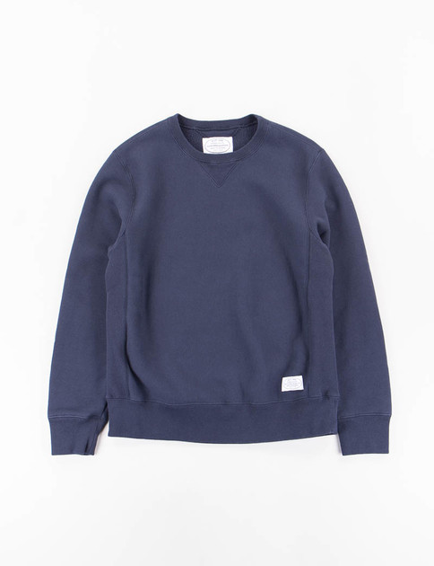 Neighborhood Navy 80 C–Crew Sweatshirt