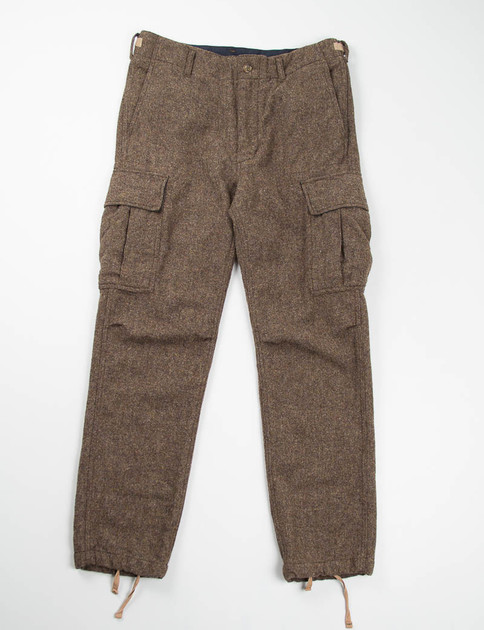 Brown 13oz Wool Flannel BDU Pant