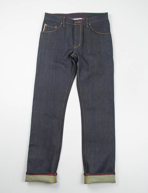 Original Selvage Raw Jones Jean