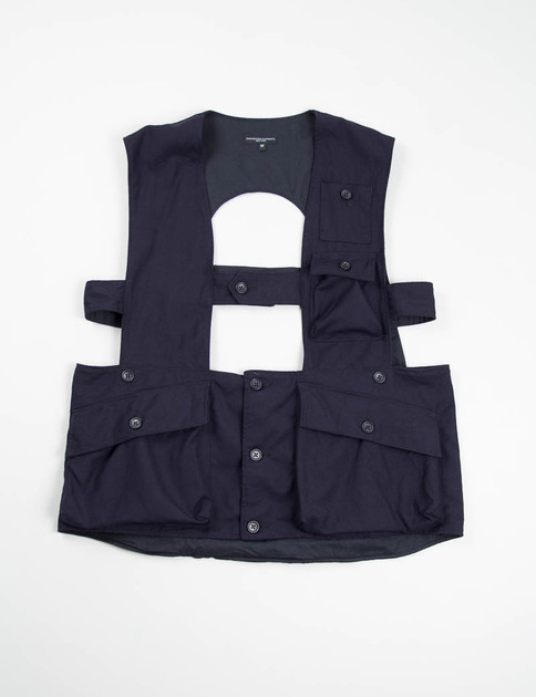 Navy Uniform Serge Shooting Vest