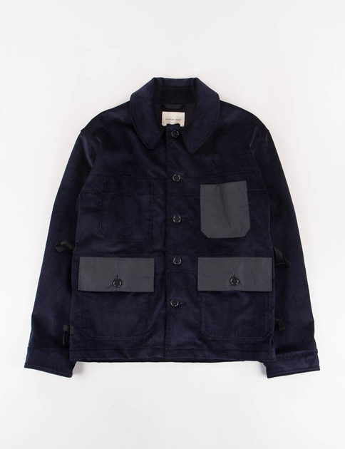 Navy 9 Wale Corduroy Factory Jacket SPECIAL