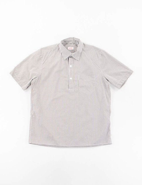 Olive Gingham Ete Shirt