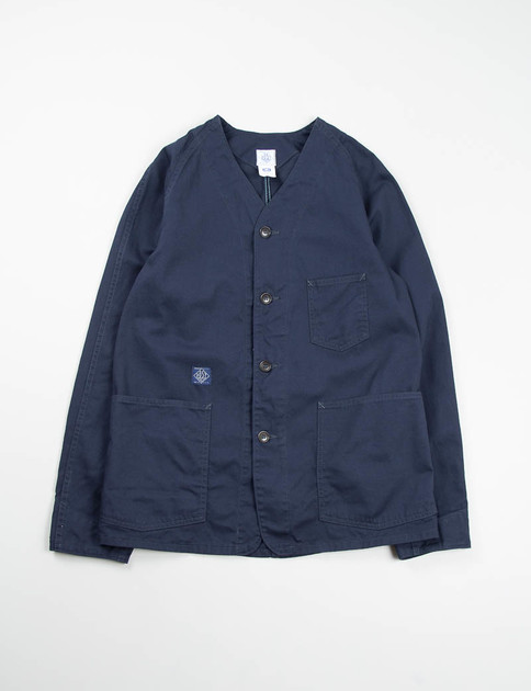 Navy Cotton Twill Post 41DV Jacket