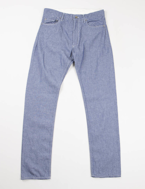 Indigo Cotton Dungaree Cloth Type 6 Jean